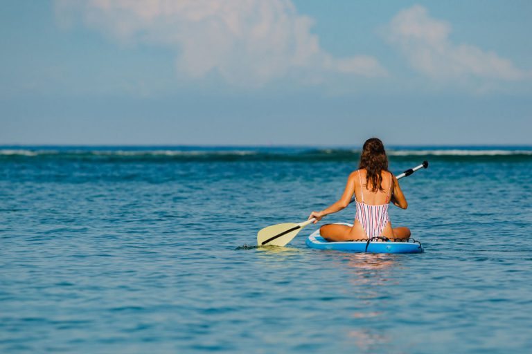 Paddling While Standing Up: This Year's Popular Sport